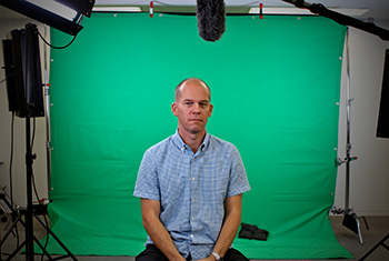 Chroma Key interviews are easy to shoot